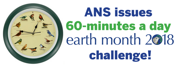 ANS Issues Earth Month 60-Minutes a Day Challenge