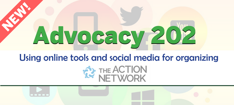 Advocacy 202: Using online tools and social media workshop
