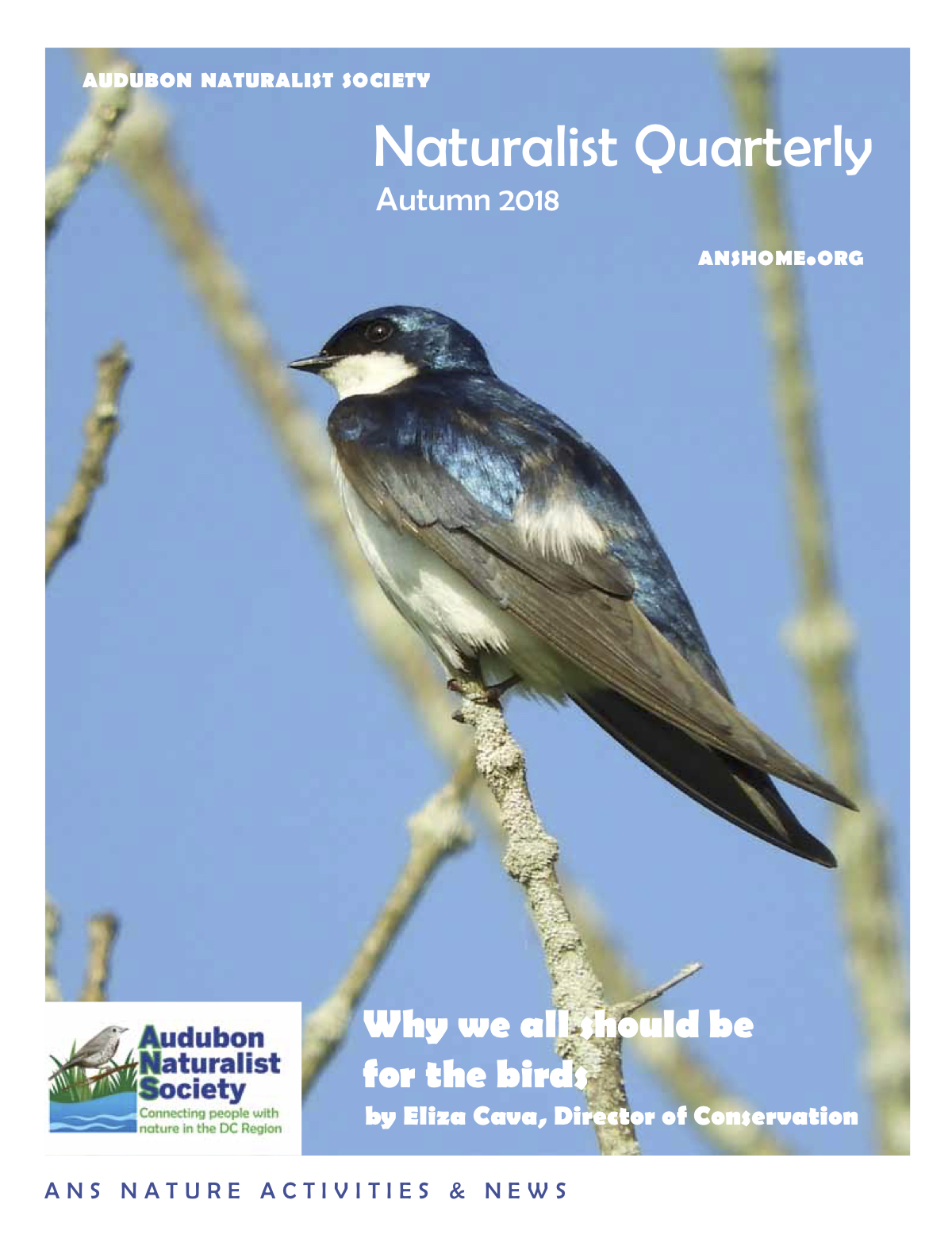 ANS Naturalist Quarterly - Autumn 2018