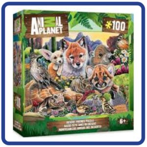 Animal Planet Wild Animals Puzzle 100 pieces