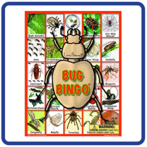 Lucy Hammett Games Bug Bingo Board Game