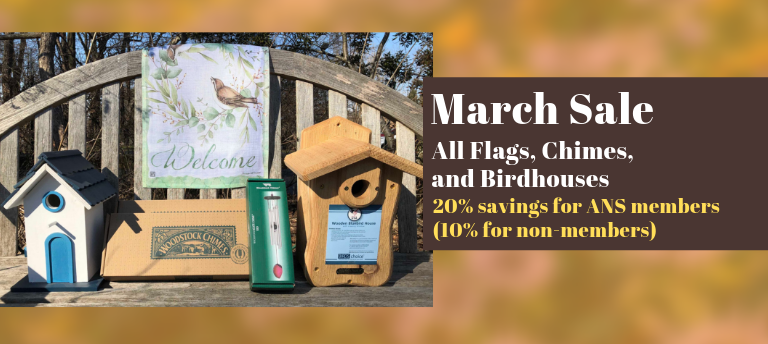 March Sale - All Flags, Chimes and Birdhouses