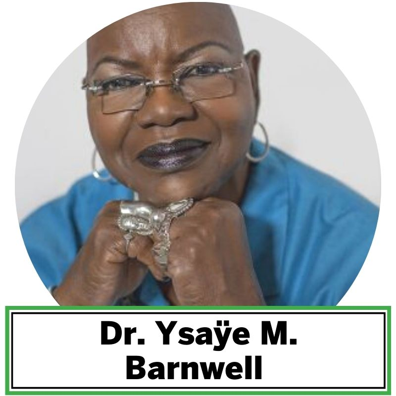 "Dr. Ysaÿe M. Barnwell, a native New Yorker now living in Washington, DC is a musical, human rights, and international treasure. Dr. Barnwell is the songwriter of Breaths, and appears as a vocalist and/or instrumentalist on more than 30 recordings with Sweet Honey In The Rock, an African American acapella singing group whose music ranges from ""African to blues to gospel and jazz. Throughout their sterling career, Sweet Honey has used their art form and their voices to defend civil rights, social justice, equality and freedom for all."""