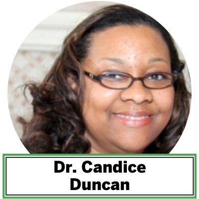 Dr. Candice Duncan is a lecturer in the Environmental Science and Technology Department at the University of Maryland, College Park. She earned her PhD from the University of Arizona's Soil, Water and Environmental Science program (now known as the Department of Environmental Science).  She earned an MS in Earth Science from North Carolina Central University, where she studied in the Department of Environmental, Earth and Geospatial Sciences. She is an environmental scientist through knowledge and experience gained as an analytical chemist, soil scientist and hydrologist. Her work focuses on the transport and characterization of organic contaminants in the vadose zone (the Earth's terrestrial subsurface that extends from the surface to the regional groundwater table). Dr. Duncan dabbles in archeology through the New York African Burial Ground project with Howard University, studying trace metals in grave soils using non-invasive analytical technology combining soil science and chemistry.  This work postulates the diet of interred free and enslaved Africans of the New Amsterdam Colony located in what is now Lower Manhattan.  She has advised undergraduate students majoring in environmental science and technology. She has mentored undergraduate and graduate students in research related from legacy phosphorus in Chesapeake Bay soils to contaminant leachate from recycled asphalt pavement in highway construction. She is a community engagement promoter, science advocate, citizen scientist, STEM educator, and mentor.