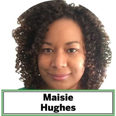 Maisie Hughes is the owner of Design Virtue and co-founder of The Urban Studio. She is committed to inclusive placemaking with people and plants. Hughes works with mission-focused organizations to create greener and more equitable cities. She brings decades of award-winning leadership to her projects, and pays obsessive attention to the work to deliver high quality outcomes. She and is currently working with clients to create a ladder to employment that will yield full time urban forestry careers and diversify the urban forestry workforce. As a 2018 Landscape Architecture Foundation Fellow for Innovation and Leadership, she uses film to explore what landscapes need to be to feel welcoming for all people. Hughes is an ISA Certified Arborist with Master of Landscape Architecture degree from Morgan State University, and a B.A. in Afro American Studies from Howard University.