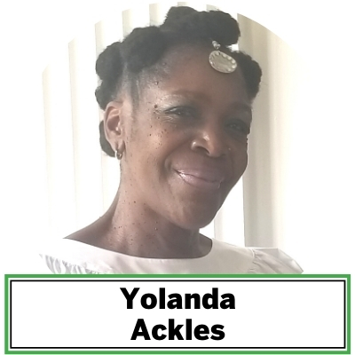 """Yolanda Ackles is a senior member of the Kankouran West African Dance Company, established in 1983 in Washington, D.C., with founders Assane Kounte, Artistic Director, and the late Abdou Kounta, Musical Director. She is the featured dancer in Ain't You Got a Right to the Tree of Life?"""" ARTScape, which included the African American traditional tale The People Could Fly. Ackles' dance experience spans decades and has graced national and international stages in education, performance venues, and wellness centers."""