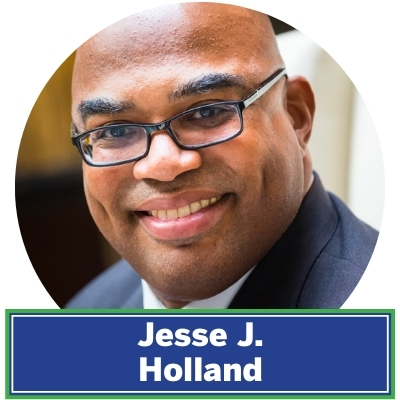 Jesse J. Holland is the Saturday host of C-SPAN's Washington Journal and an assistant professor of media and public affairs at The George Washington University. He was a longtime political reporter for the Associated Press covering Race & Ethnicity as well as the White House, the Supreme Court and the Congress, as well as state politics in the South and in New York state. He is the editor of the upcoming Black Panther: Tales of Wakanda prose anthology and the author of the Black Panther: Who Is The Black Panther? prose novel, which was nominated for an NAACP Image Award in 2019. Jesse is also the author The Invisibles: The Untold Story of African American Slaves Inside The White House and Black Men Built The Capitol: Discovering African American History In and Around Washington, D.C.